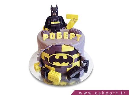 کیک تولد پسرانه - کیک بتمن 14 | کیک آف