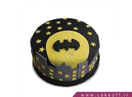 کیک تولد پسرانه - کیک بتمن 15 | کیک آف