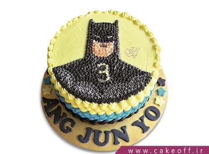 کیک تولد پسرانه - کیک بتمن 16 | کیک آف