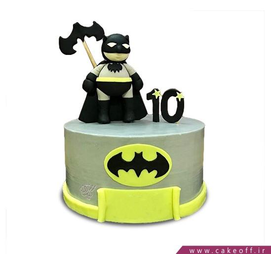 کیک تولد پسرانه - کیک بتمن 6 | کیک آف
