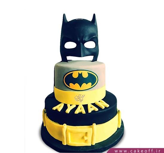 کیک تولد پسرانه بتمن 8