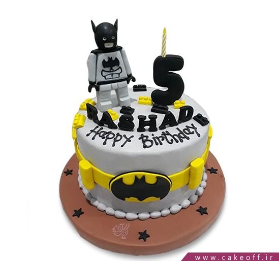 کیک تولد پسرانه - کیک بتمن 12 | کیک آف