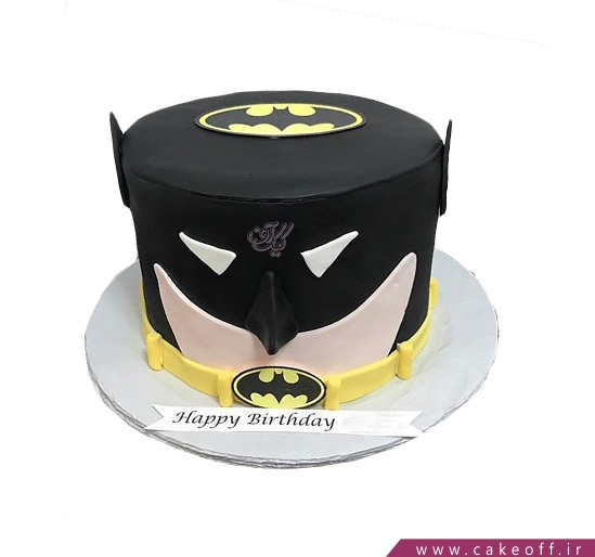 کیک تولد پسرانه - کیک بتمن ۱۳ | کیک آف