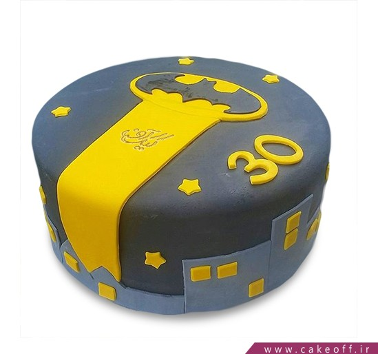 کیک تولد پسرانه - کیک بتمن 17 | کیک آف