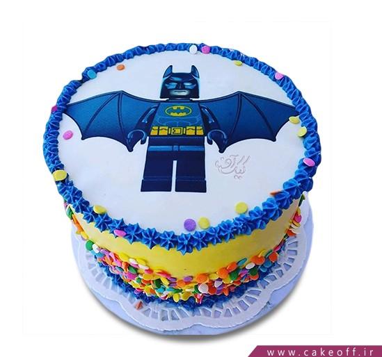 کیک تولد پسرانه - کیک بتمن 20 | کیک آف