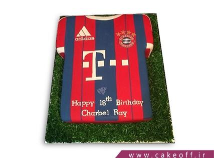 کیک فوتبالی - کیک بایرن مونیخ 2 | کیک آف