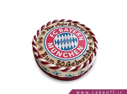 کیک تولد پسرانه-کیک تولد فوتبالی بایرن مونیخ 4 | کیک آف