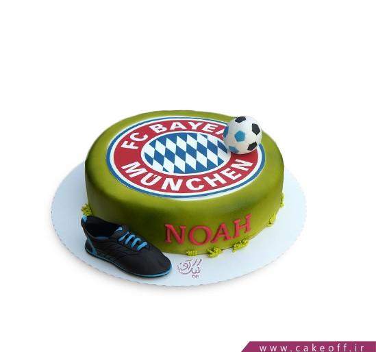 کیک تولدفوتبالی بایرن مونیخ 5
