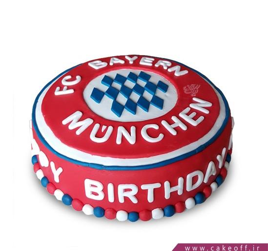 کیک تولدفوتبالی بایرن مونیخ 4