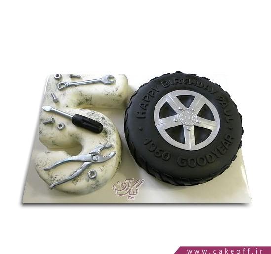 سفارش کیک تولد پدر - کیک پنجاه سالگی آقای راننده | کیک آف