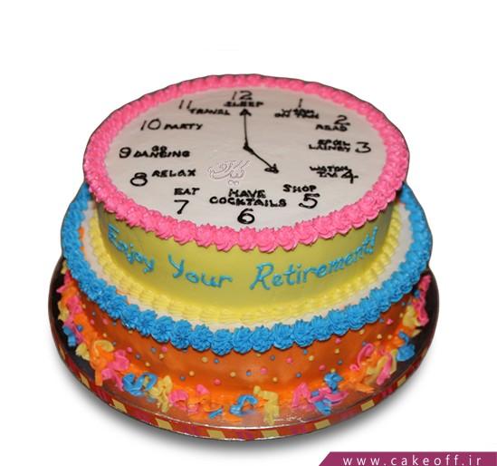 کیک ثانیه های آخر