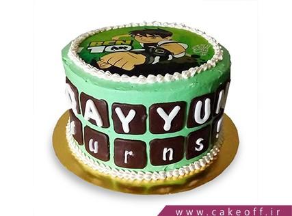 کیک تولد بن تن 5 | کیک آف
