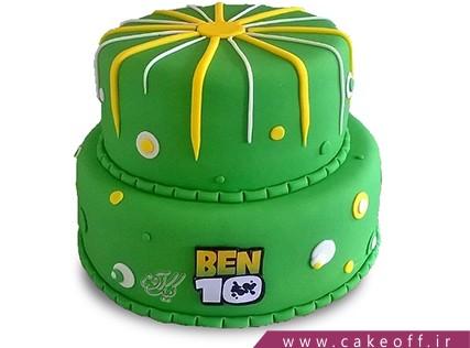 کیک تولد بن تن 4 | کیک آف