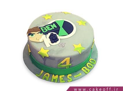 عکس کیک تولد بن تن
