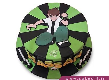 کیک تولد بن تن 1 | کیک آف