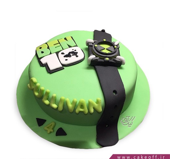 کیک تولد بن تن 13