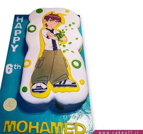 کیک تولد بن تن 12