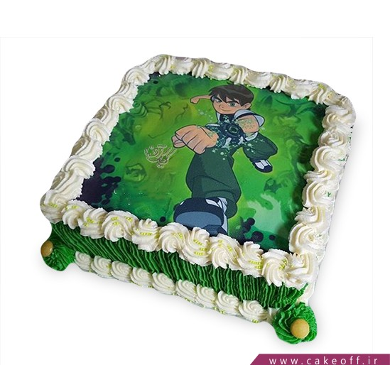 کیک تولد بن تن 11