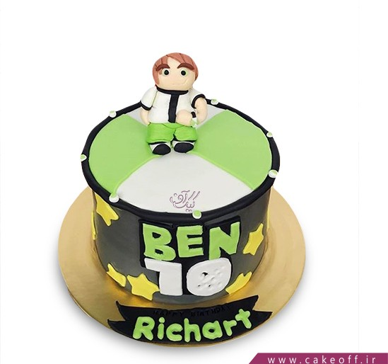 کیک تولد بن تن 7