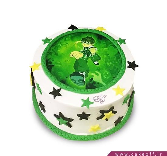 کیک تولد بن تن 6