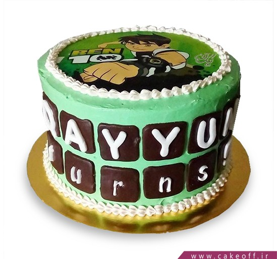 کیک تولد بن تن 5