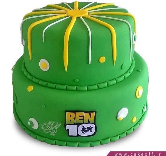کیک تولد بن تن 4