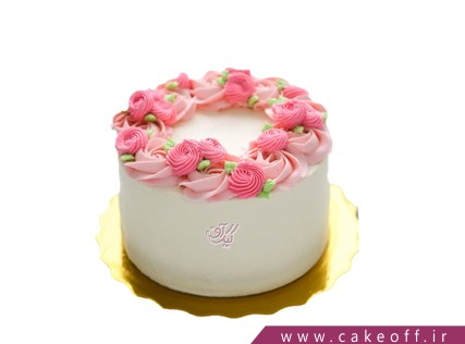 کیک تولد زیبا - کیک مارال | کیک آف