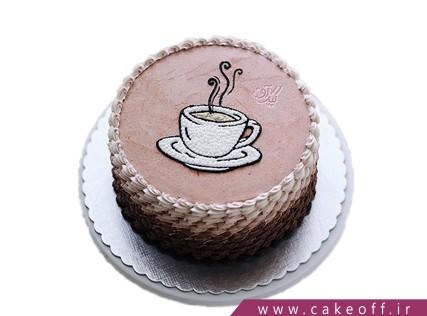 کیک تولد زیبا - کیک فنجان داغ | کیک آف