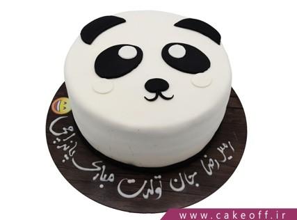 کیک پاندا تپلی | کیک آف