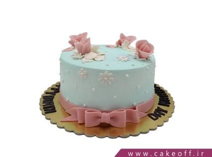 کیک خاص - کیک رویش گل   کیک آف