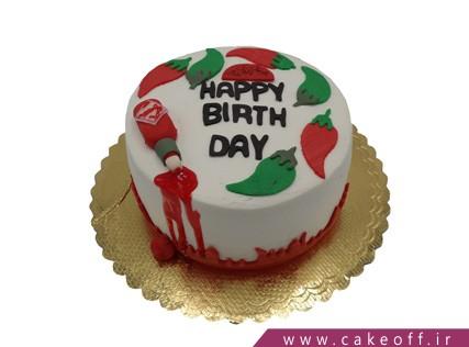 کیک خاص - کیک فلفل قرمز | کیک آف