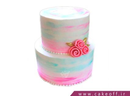 کیکهای تولد زیبا - کیک افسون گل رز | کیک آف