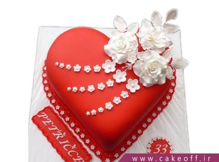 کیک تولد عاشقانه - کیک این عشقه | کیک آف