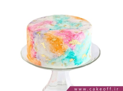 کیکهای تولد زیبا - کیک سحابی کارینا | کیک آف