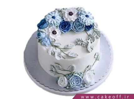 انواع کیک تولد - کیک فوندانتی گل های زیبا | کیک آف