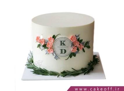 کیک تولد خاص - کیک پیوند اسم من و تو | کیک آف