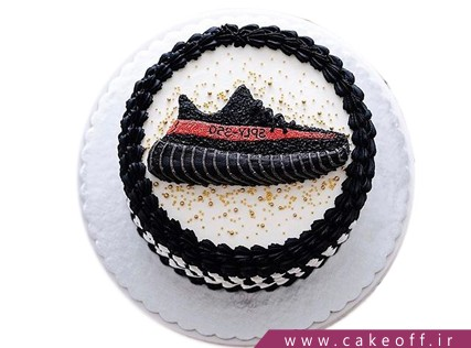 کیک ورزشی کفش های قهرمانی | کیک آف