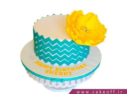 کیک تولد خاص - کیک زیگزاک | کیک آف