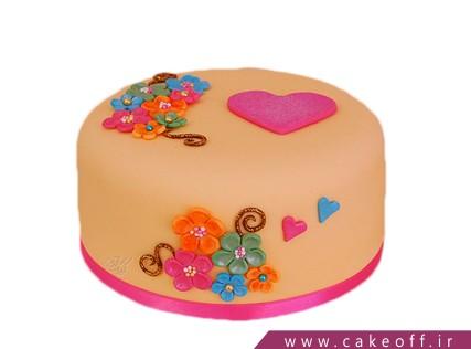 کیک فانتزی دنریس | کیک آف
