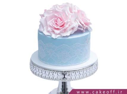 کیک گل رز - کیک نگار گل | کیک آف