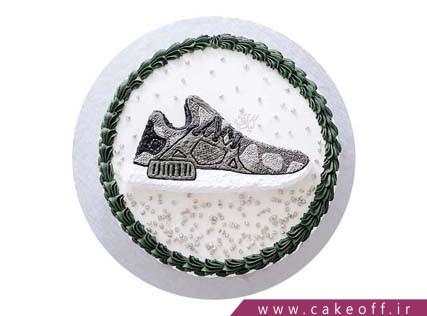 کیک ورزشی کفش تیز پا | کیک آف