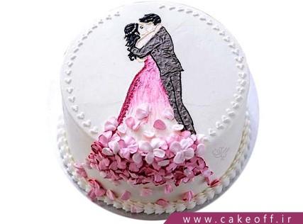 کیک سالگرد ازدواج - کیک فقط خودم، فقط خودت | کیک آف