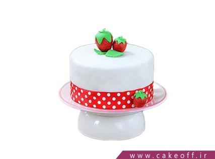 انواع کیک تولد - کیک قصه های من و توت فرنگی | کیک آف