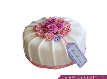 کیک تولد زنانه - کیک هدیه ناقابل | کیک آف