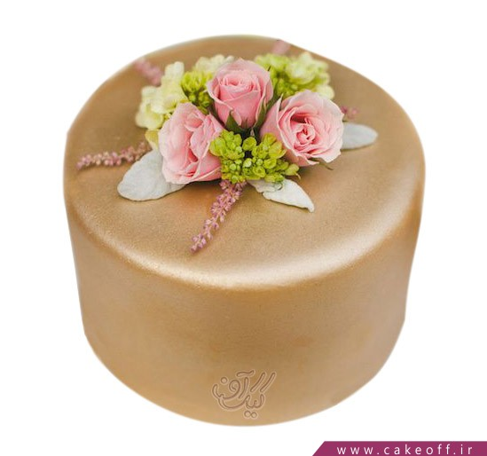 کیک تولد زیبا - کیک فراتر از گل   کیک آف