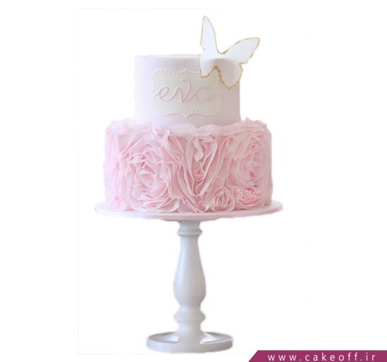 کیک پروانه شدنت مبارک