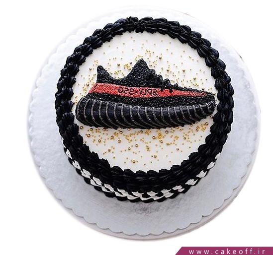 کیک ورزشی کفش های قهرمانی