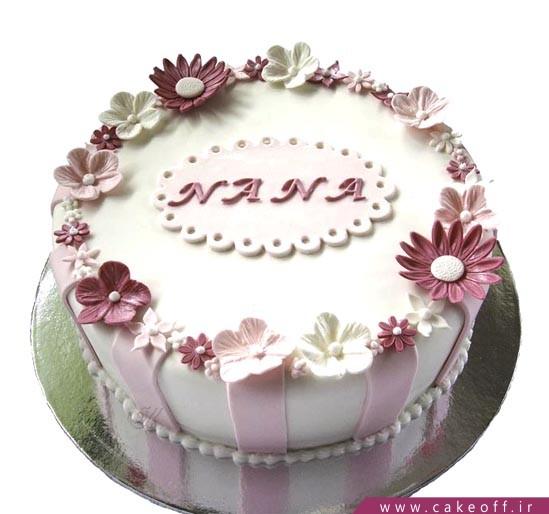 کیک تولد دخترانه - کیک تقدیم به تو که زیبایی | کیک آف