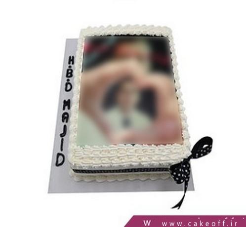 کیک تولد ساده مجید | کیک آف