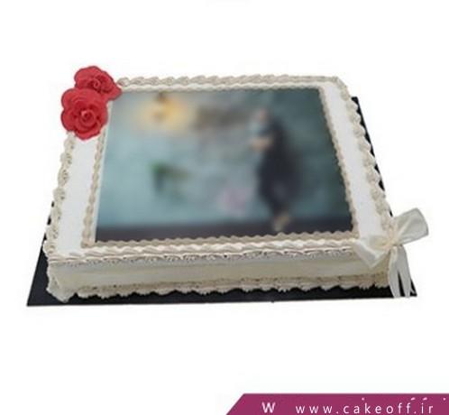 کیک تولد زیبا - کیک ناتالی گل | کیک آف